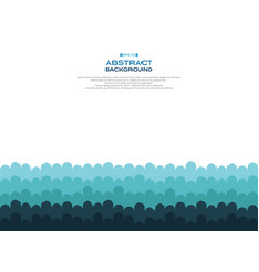 aabstract of blue curve wave pattern level vector image