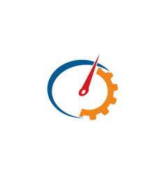 Auto gear logo vector