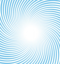 blue radiant rotating background vector image