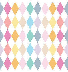 colorful abstract geometric seamless pattern vector image vector image