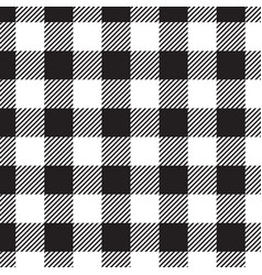 gingham checkered seamless pattern vector image