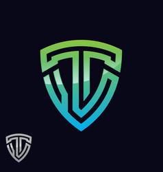 symbol letter t vector image