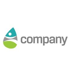 Welness medicine logo vector