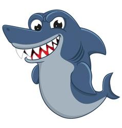 Cool Shark cartoon vector image vector image