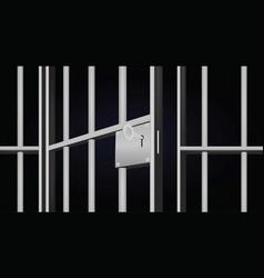 Prison cell vector