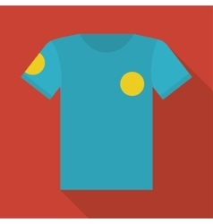 Tshirt of soccer sport design vector image
