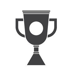 Winner Cup Outline Icon vector image vector image