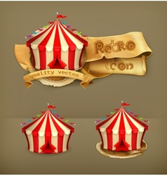 Circus icon vector image