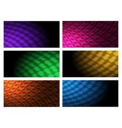 industrial background set vector image vector image