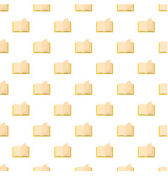 book page pattern seamless vector image