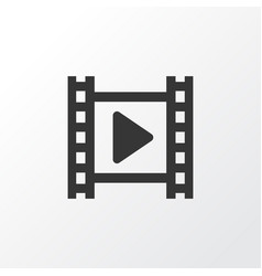 Cinema icon symbol premium quality isolated movie vector