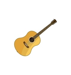 Classical guitar icon cartoon style vector image