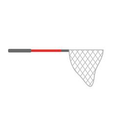 fishing net isolated icon vector image