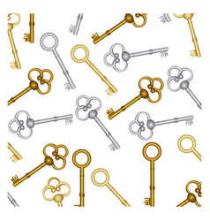 Old keys icon stock vector