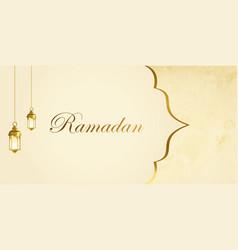 Ramadan sale web header and banner design vector