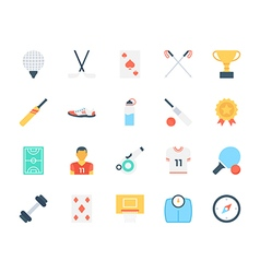 Sports Colored Icons 6 vector