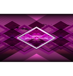 Violet geometric background vector
