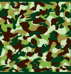 war universal nature camouflage seamless pattern vector image