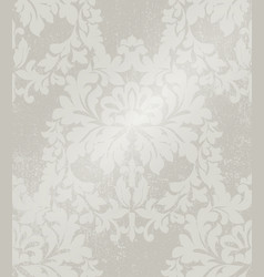 baroque intricate pattern design luxury classic vector image vector image