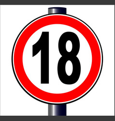 18 sign vector