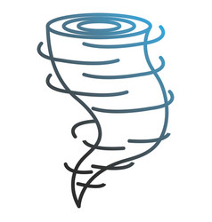 Air twister isolated icon vector