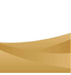 Background sand dune landscape and blank space vector