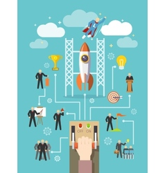Business Leadership Concept vector image