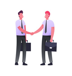 business meeting successful deal or contract vector image