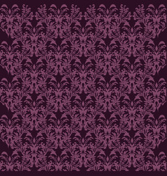 damask pattern background for wallpaper design in vector image