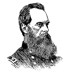 general geary vintage vector image