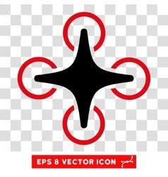 Nanocopter eps icon vector
