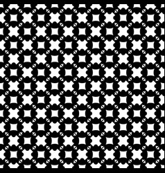 seamless pattern squares crosses vector image