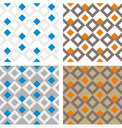 Square pattern texture vector image