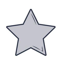 Star icon cartoon vector