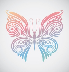 Decoration Butterfly vector image