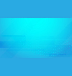 abstract blue geometric futuristic background vector image