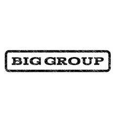 Big group watermark stamp vector