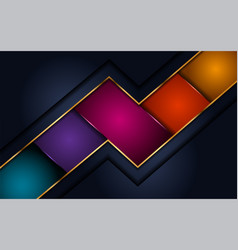 Elegant abstract modern colorful background vector
