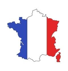 France euro championship 2016 flag design vector