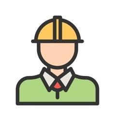 Industry worker i vector