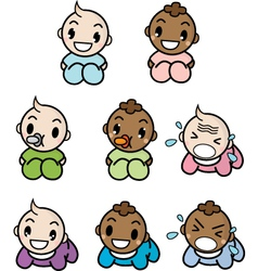 lil babies vector image