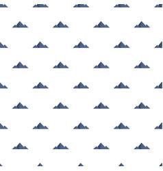 Mountain peak pattern seamless vector