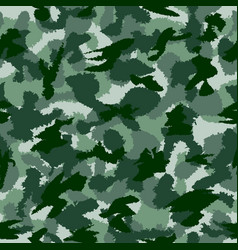war green forest camouflage seamless pattern can vector image