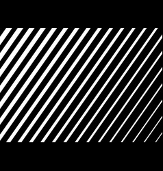 white diagonal stripes on black background design vector image