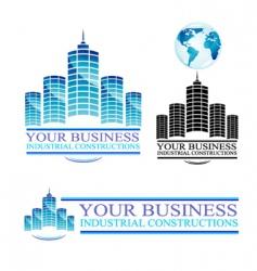 real estate design elements vector image