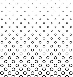 Abstract black white ring pattern background vector