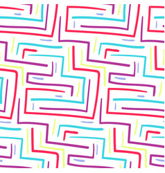abstract scandinavian colorful angle lines pattern vector image