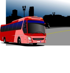 al 0216 bus 02 vector image