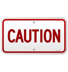 Caution Rectangular Notice vector