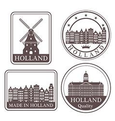 Netherlands vector image